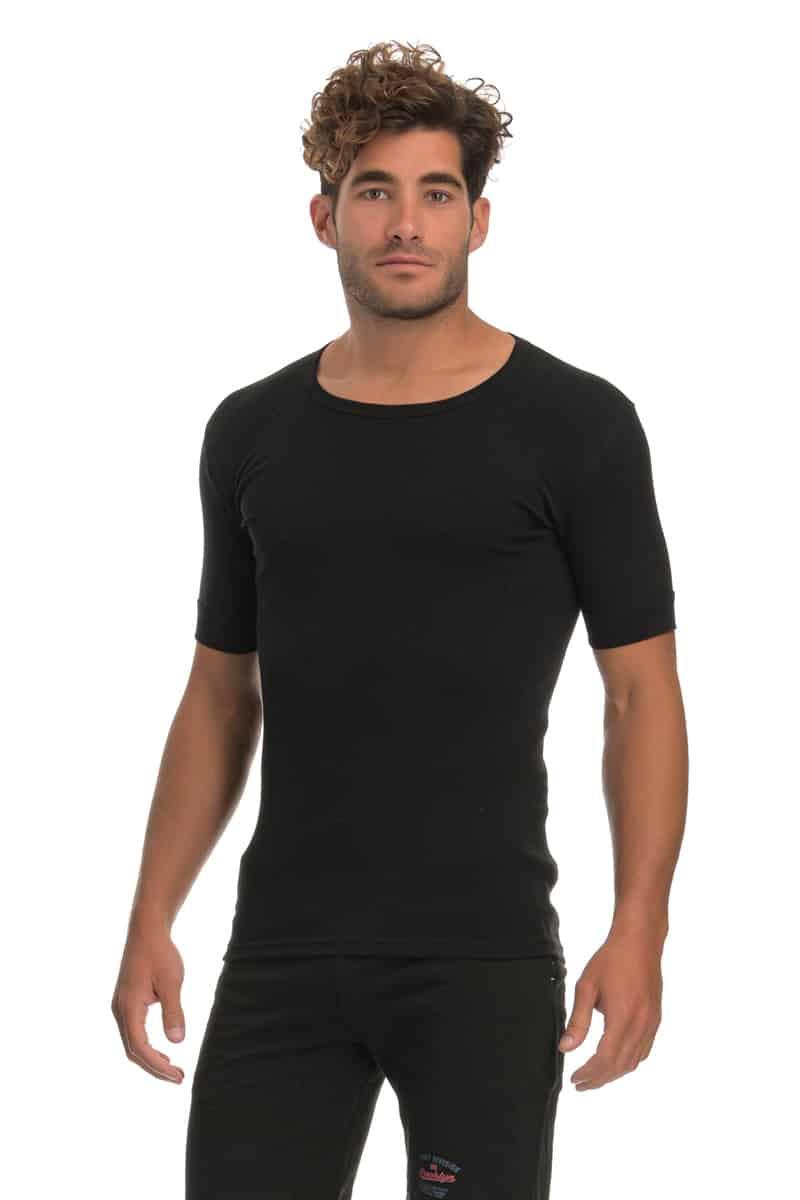 T-shirt Κοντομάνικο με Ανοιχτό Λαιμό - esorama.gr
