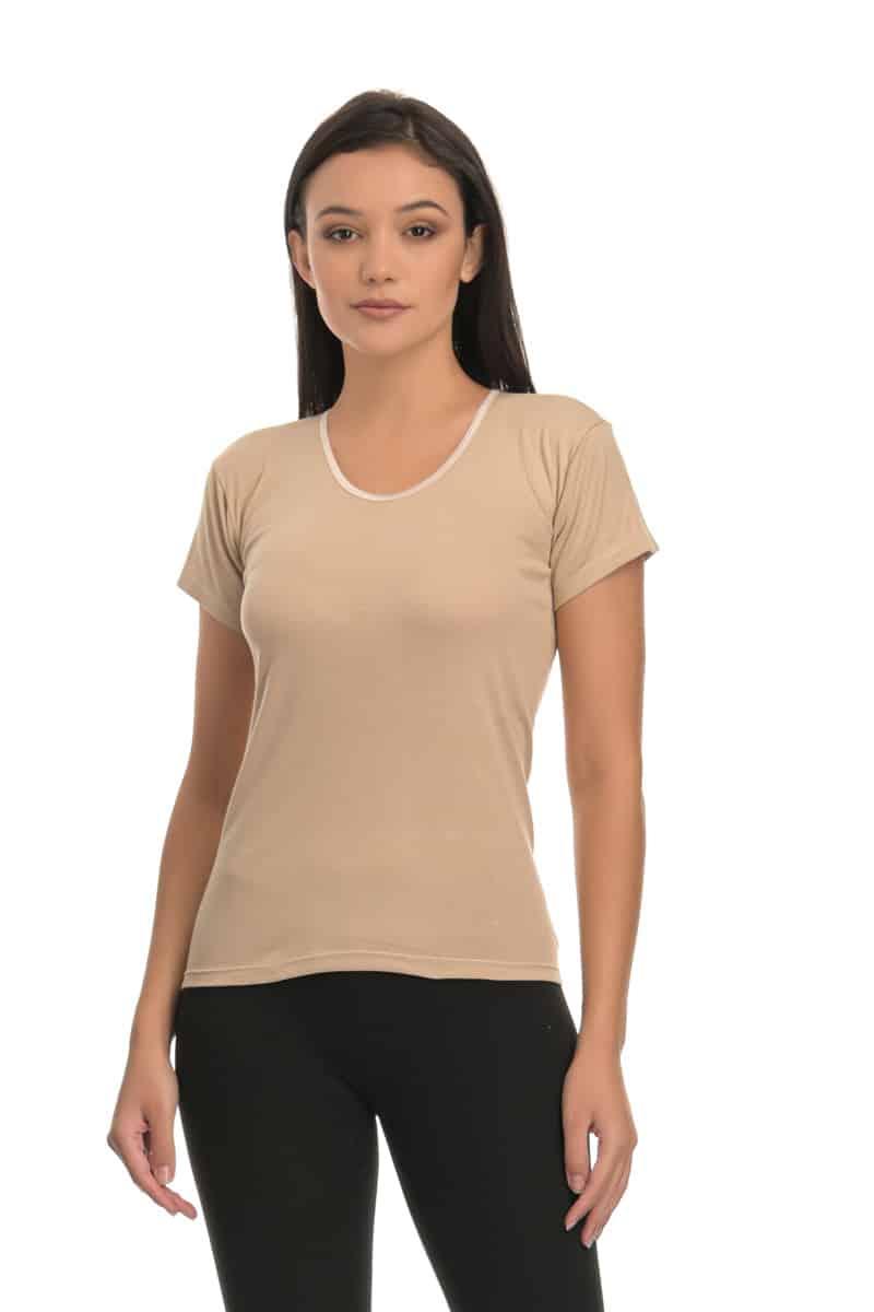T-shirt Κοντομάνικο με Λαιμόκοψη - esorama.gr